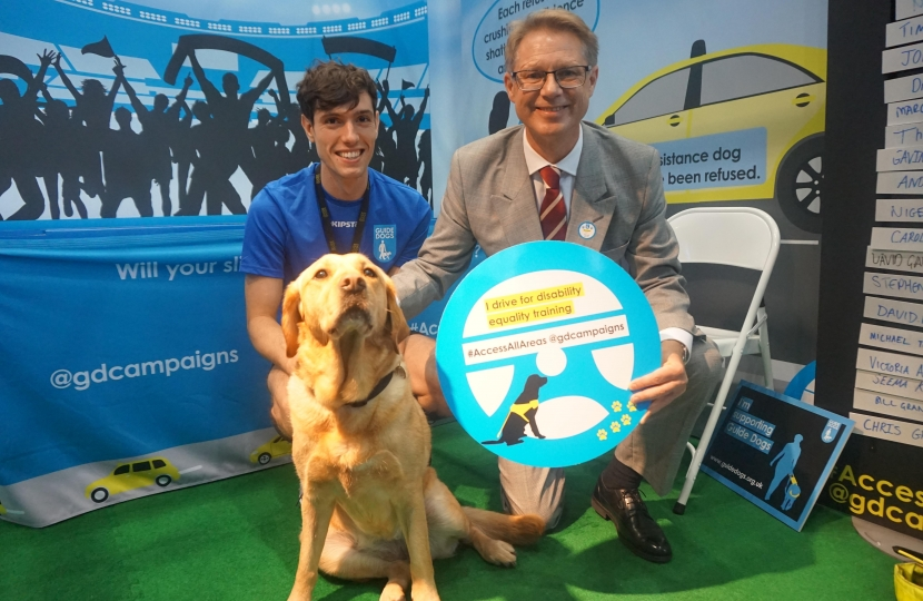 David Morris MP guide dogs
