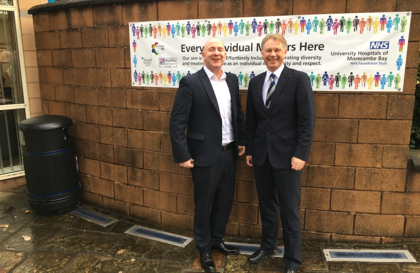 David Morris MP secured RLI Funding